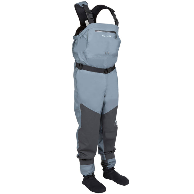Fishing Breathable Waders Caperlan 3C,magnet gray, photo 1 of 18