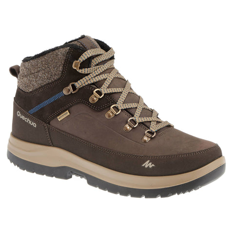 Men's Snow Hiking Mid-Rise Waterproof Boots Arpenaz 500,