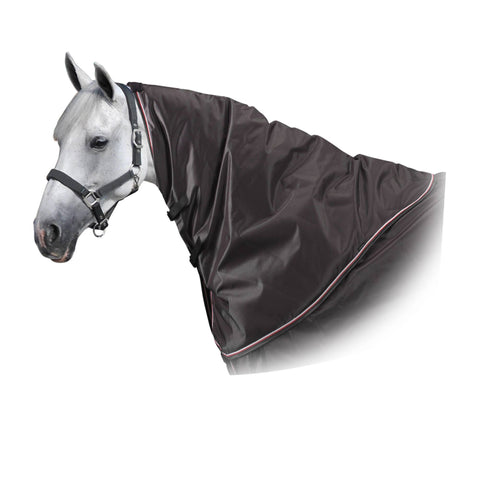Horse Riding Neck Cover for Horses Allweather 500,dark gray