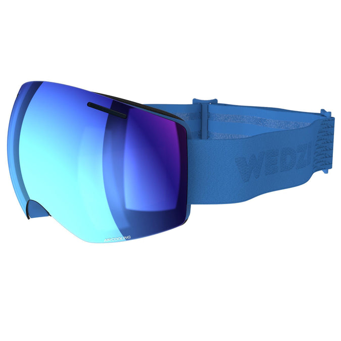Women and Girl's Skiing and Snowboarding Goggles Good Weather G 520,electric blue, photo 1 of 7