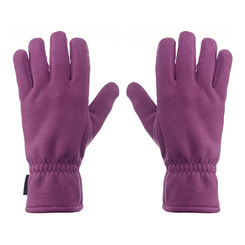Hiking Non-Touchscreen Gloves Forclaz 100,