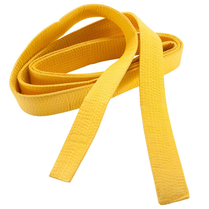 Martial Arts Belt Piqué,sunshine yellow, photo 1 of 6