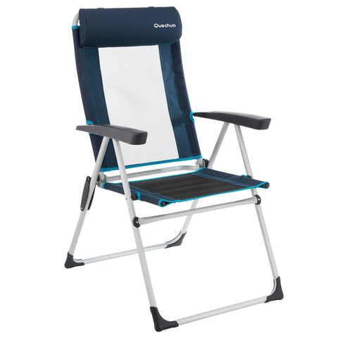 Comfortable Reclining Chair for Camping,blue