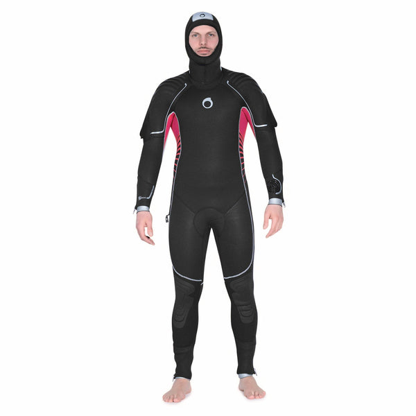 519917526d Men s Cold Water Scuba Diving Semi-Dry Wetsuit - 7 mm