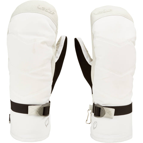 Ski Mittens Slide 900,snow white