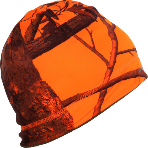 Hunting Reversible Hat 500,safety vest orange