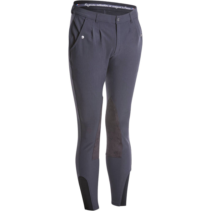 Men's Horse Riding Jodhpurs Paddock,carbon gray, photo 1 of 16
