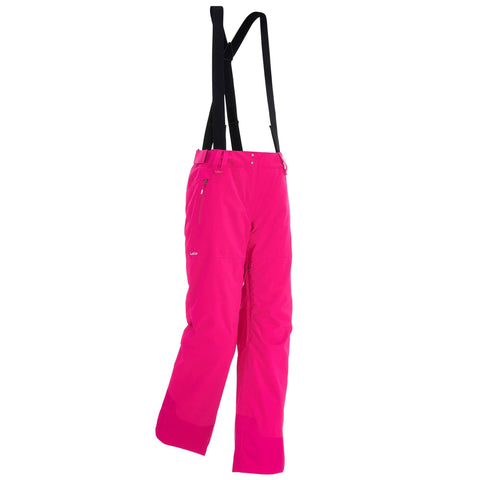 Women's Freeride Pants 500,fuchsia