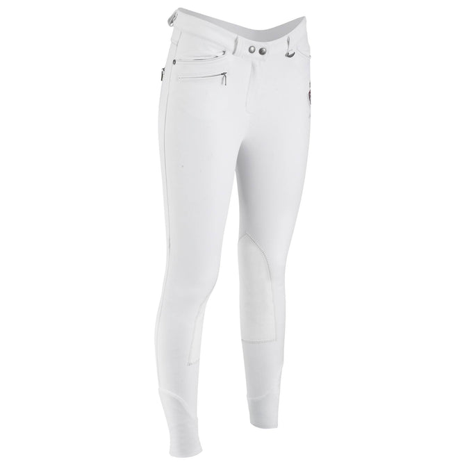 Women's Horse Riding Competition Jodhpurs Performer 500,snowy white, photo 1 of 24