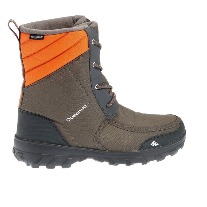 6f8b355fc0d Men's Snow Hiking Warm & Waterproof Boots SH300