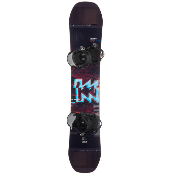 Freestyle Snowboard Package End Zone Park And Ride 500,black, photo 1 of 9