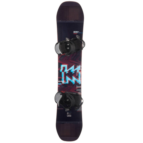Freestyle Snowboard Package End Zone Park And Ride 500,black