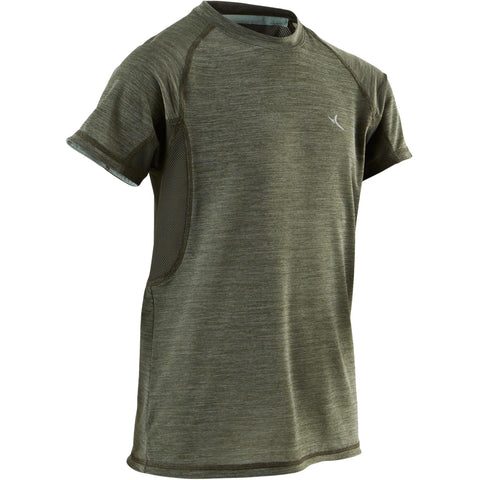 Boys' Gym T-Shirt Breathable Short-Sleeved S900,