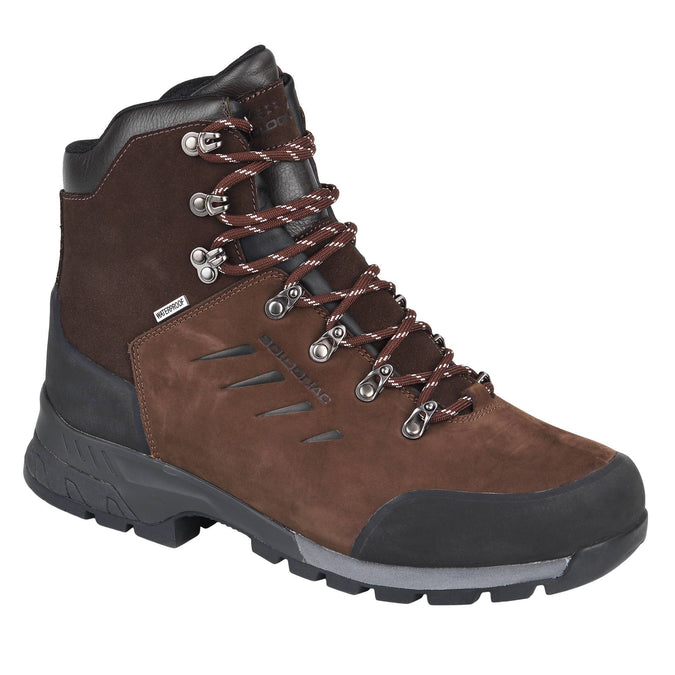 Hunting Waterproof Boots Supertrack 500 V2,coffee, photo 1 of 16