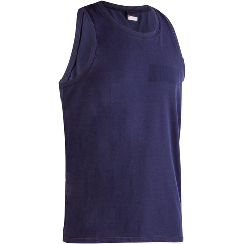 Men's Gym & Pilates Breathable Cotton Tank Top,