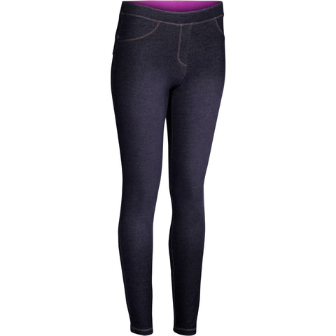 Women's Dance Jeggings,gray