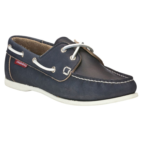 Women's Boat Shoes CR500,navy blue