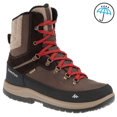 Men's Snow Hiking High-Rise Waterproof Boots Arpenaz 500,