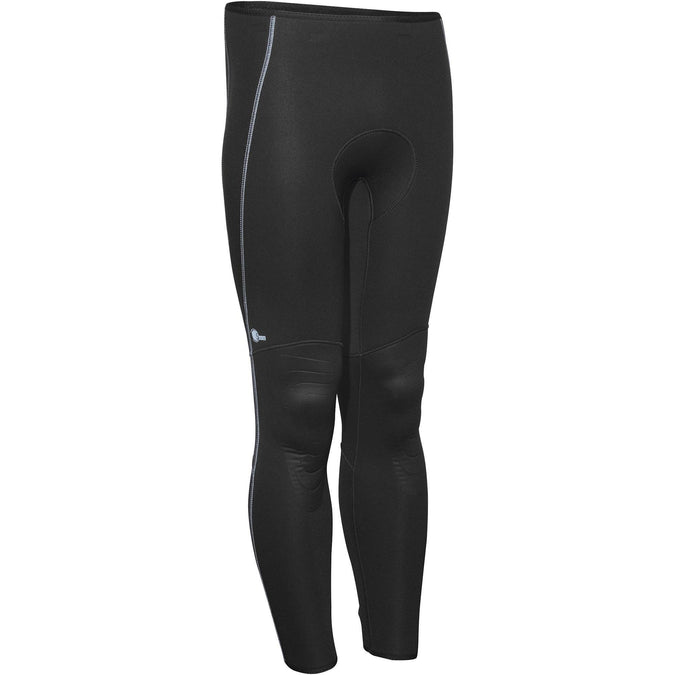 Men's Spearfishing Wetsuit Pants SPF100  - 5 mm,black, photo 1 of 12