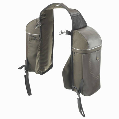 Horse Riding Small Hacking Saddle Bags Sentier,brown