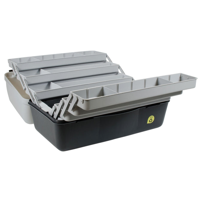 Fishing 6-Tray Box,dark gray, photo 1 of 12
