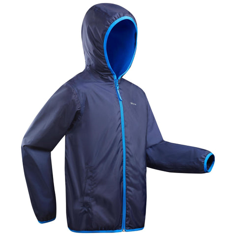 Boy's Snow Hiking Jacket Warm 8-14 Years SH50,dark blue