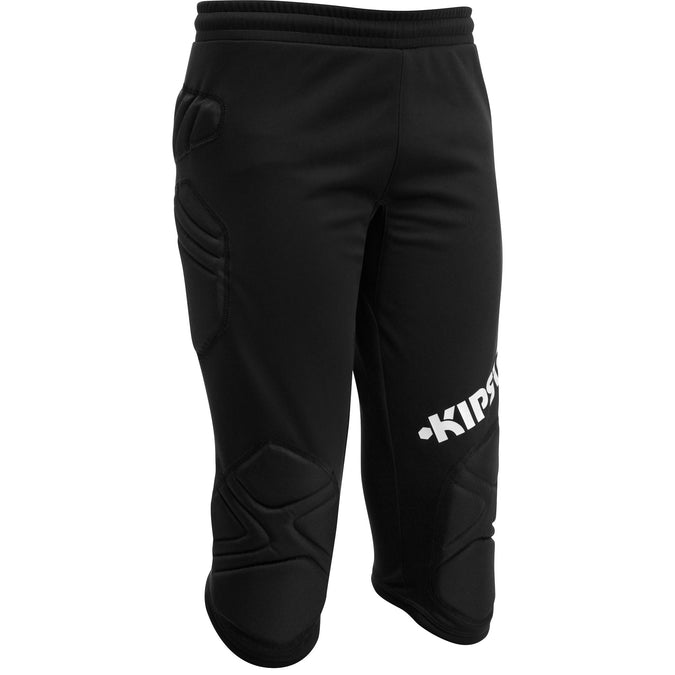 Soccer Goalkeeper 3/4 Length Bottoms F300,black, photo 1 of 10