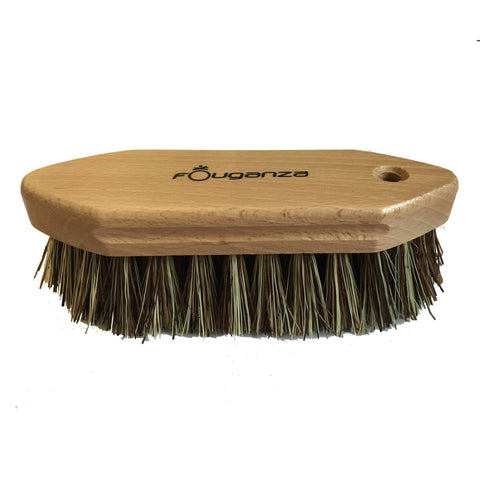 Horse Riding Dandy Brush With Hard Bristles,brown
