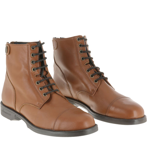 Horse Riding Lace-Up Paddock Boots 500,
