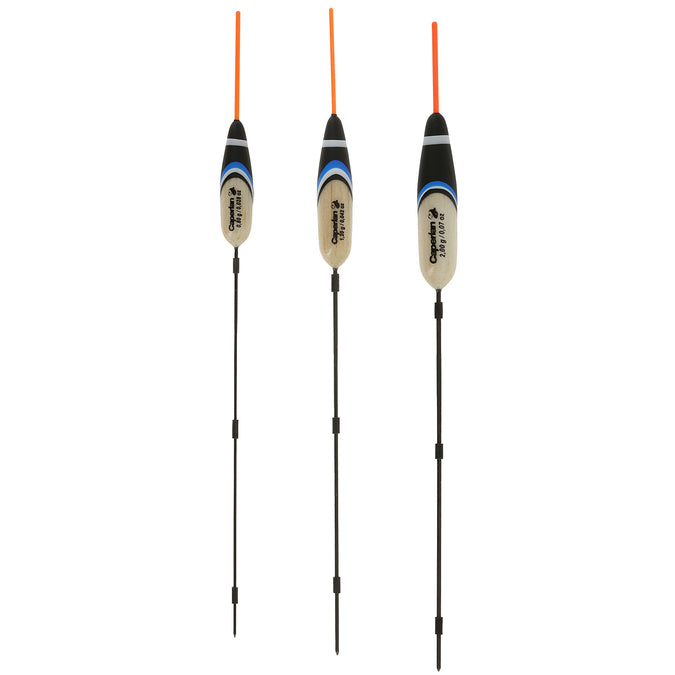 Fishing Float Kit RIVERLAKE 3-Pack,red, photo 1 of 11