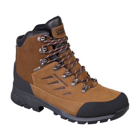 Men's Hunting Waterproof Supertrack Boots 500,brown