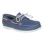 Men's Sailing Boat Shoes CR500,prussian blue