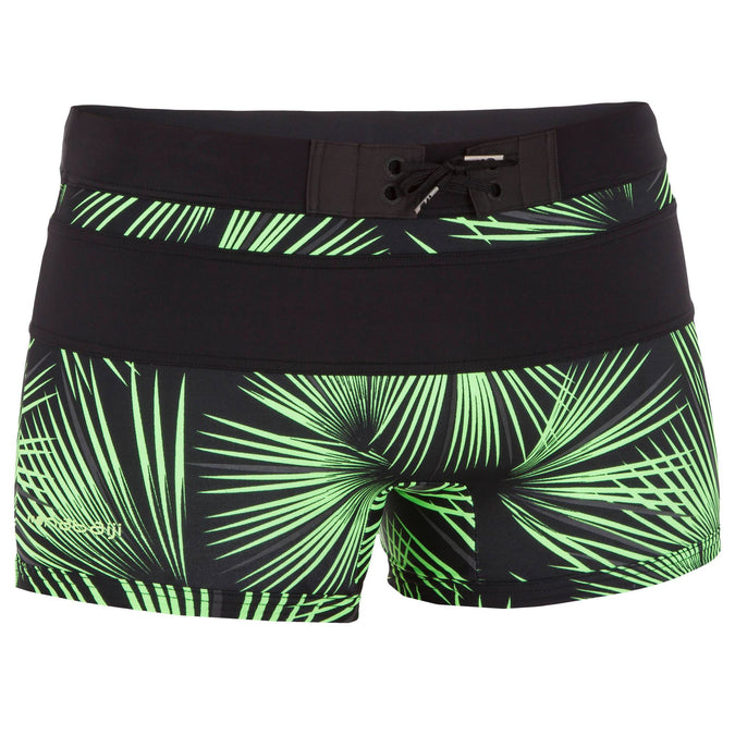 Men's Boxer Swim Shorts B-Active Fun,green, photo 1 of 6