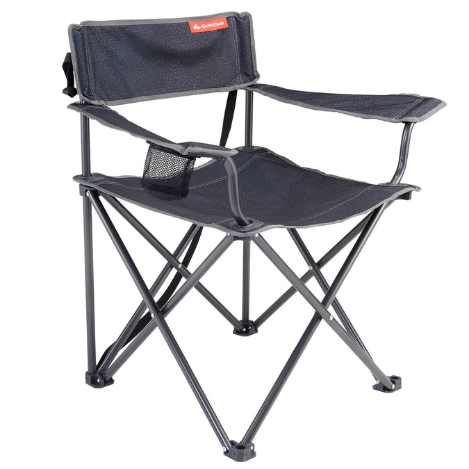 Camping Large Folding Chair,dark grey, photo 1 of 13