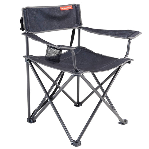 Camping Large Folding Chair,dark grey