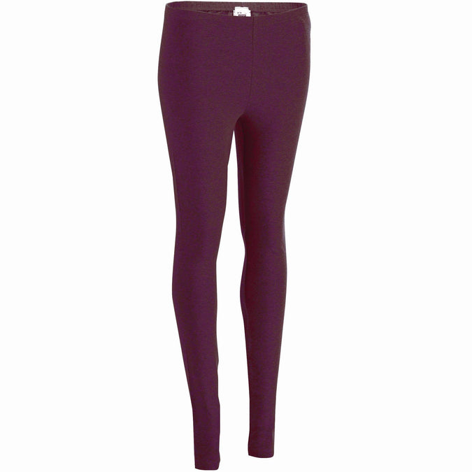 Women's Gym & Pilates Leggings Salto,plum, photo 1 of 7
