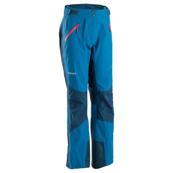 Women's Mountaineering Hardshell Pants,dark petrol blue, photo 1 of 14