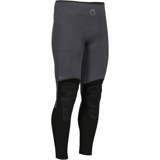 Men's Spearfishing Wetsuit Pants SPF 100 - 3 mm,black, photo 1 of 4