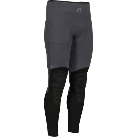 Men's Spearfishing Wetsuit Pants SPF 100 - 3 mm,black