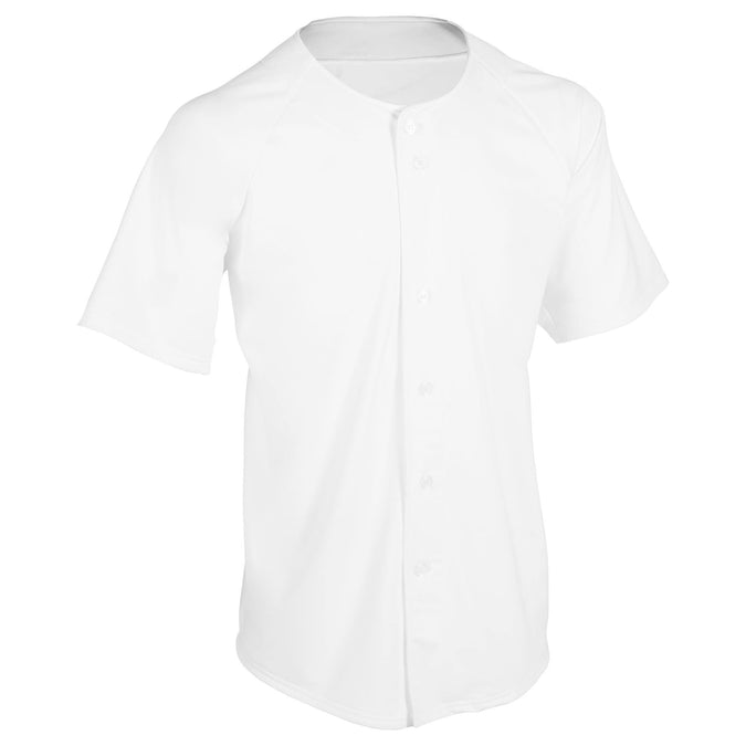 Baseball Jersey BA550,white, photo 1 of 10