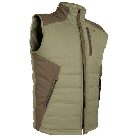 Men's Hunting Vest 300,dark ivy green