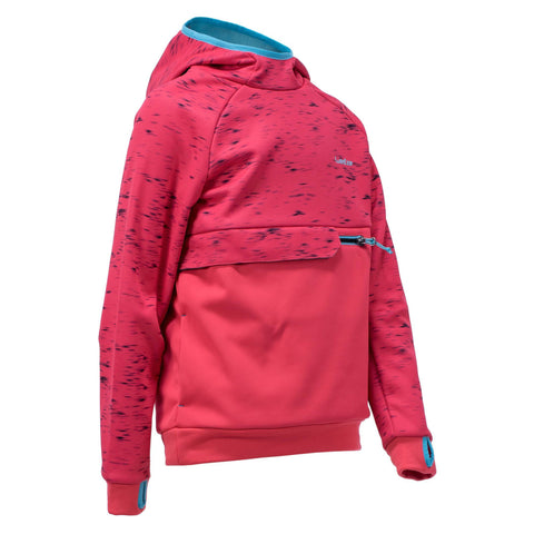 Girl's Snowboard and Ski Sweatshirt SNB HDY,