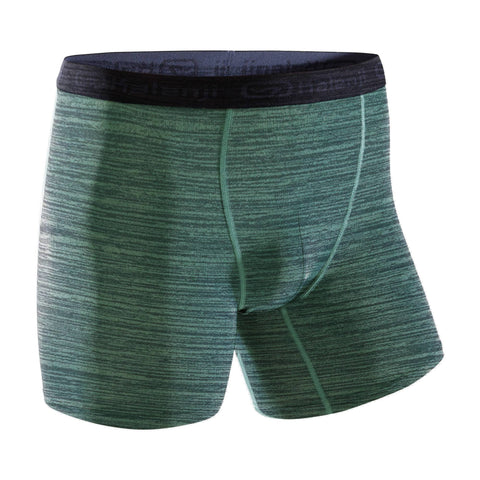 Men's Running Breathable Boxers,gray