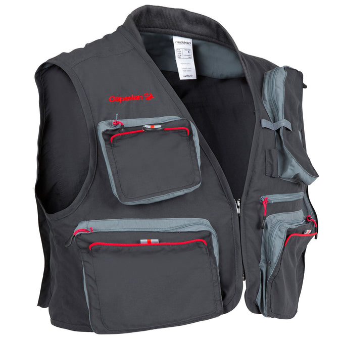 Fishing Vest Wad Caperlan 500,carbon gray, photo 1 of 22