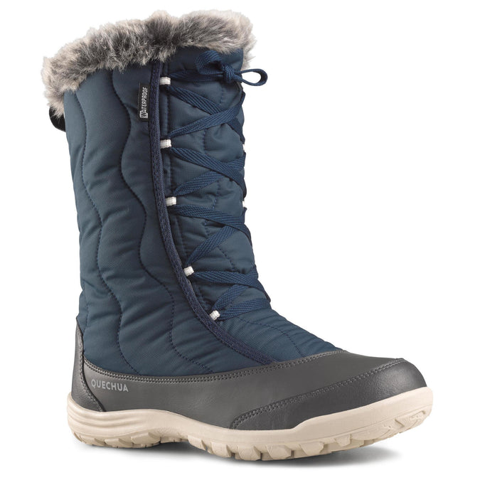 Women's Snow Hiking Boots X-Warm Laces