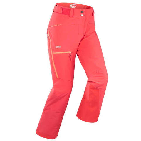 Wedze FR 500, Freeride Ski Pants, Women's,carbon gray