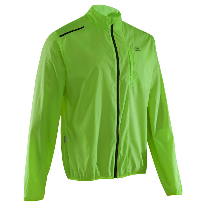Men's Running Jacket Run Wind,green, photo 1 of 9