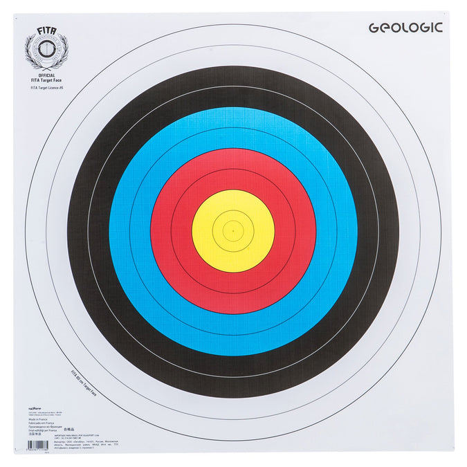 Archery Target Face 23.5 X 23.5 IN,white, photo 1 of 6