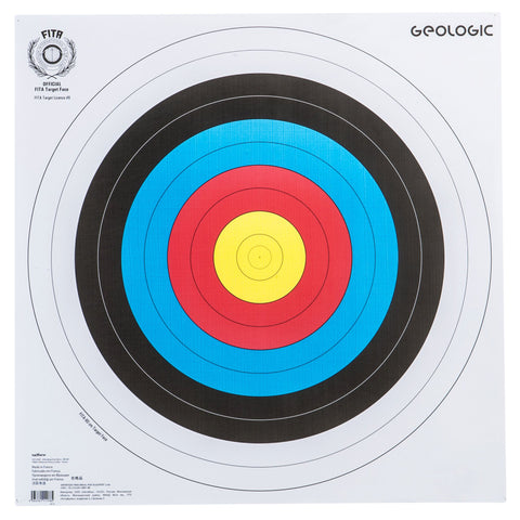 Archery Target Face 23.5 X 23.5 IN,white