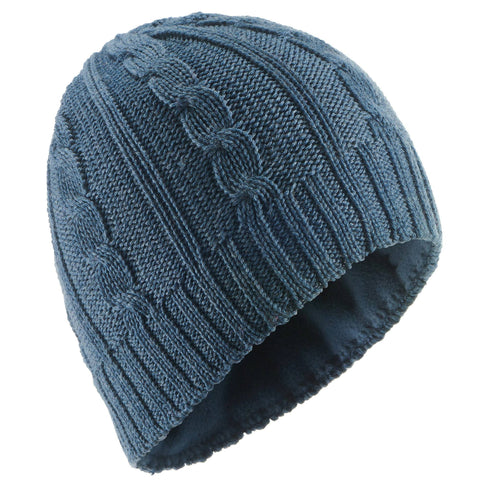 Wedze Cable-Knit Wool Ski Hat, Adult,